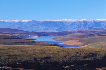 Südafrika, Drakensberge, Free State, Sterkfontein Dam Nature Reserve