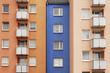 Siedlung, Fassade, Balkone