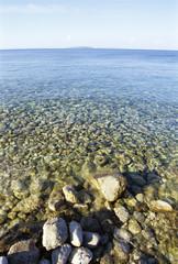 Steine __im Wasser