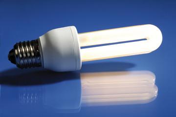 Energieeinsparung, Glühbirne, Energiesparlampe