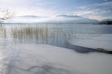 Deutschland, Bayern, Staffelsee