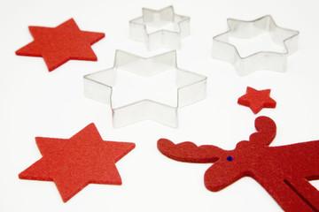 Sternförmige Ausstechformen