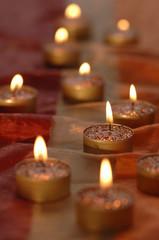 Weihnachtsschmuck, Kerzen