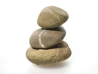 Stapel von Kieselsteinen, Pebbles