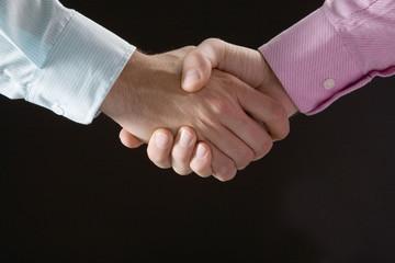 Hände schütteln, Handschlag