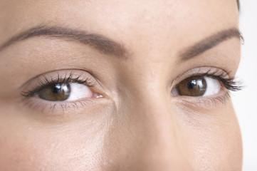 Frau die Augen, close-up