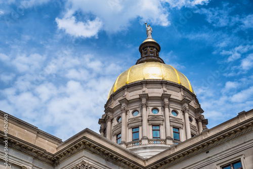 Gold dome of Georgia Capitol in Atlanta - 65426563