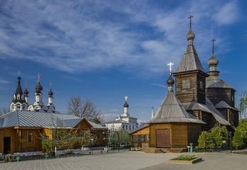 Город Муром Троицкий монастырь Церковь Сергия Радонежского