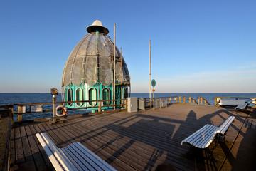Tauchglocke Sellin auf Rügen an der Ostsee