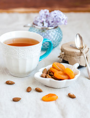 Tea with dried fruits