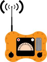 Lifeboat radio vector