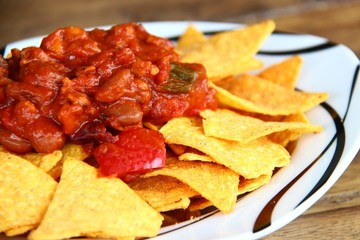 nachos chili con soja IV