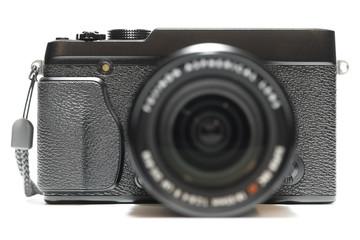 Fotocamera mirrorless isolata