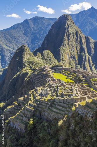 Papiers peints Ruine Machu Picchu ruins Cuzco Peru