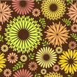 Vintage Vector floral background Seamless pattern