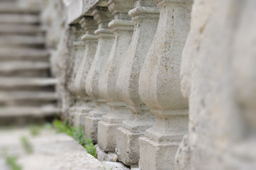 Ancient architecture of ancient railings
