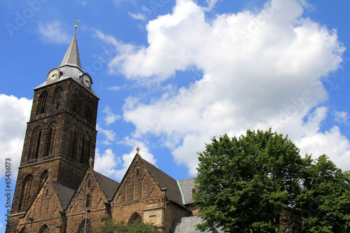 canvas print picture St. Marienkirche in Minden