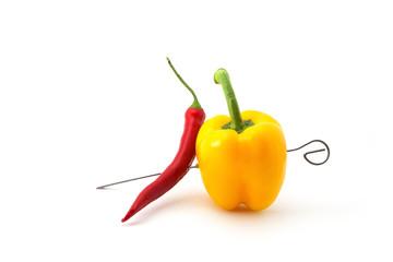 Gemüse Spieß