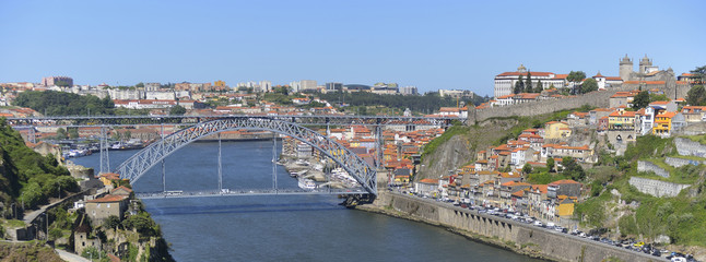 Porto city view (Portugal)