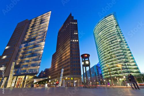 Naklejka Potsdamer Platz - Berlin