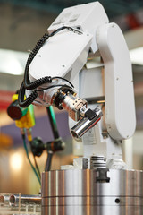 robotics. manipulator arm with detail