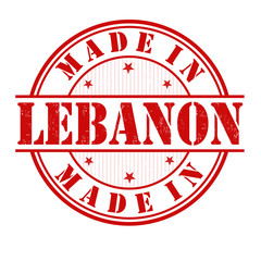 Made in Lebanon stamp
