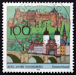 Postage stamp Germany 1996 City of Heidelberg