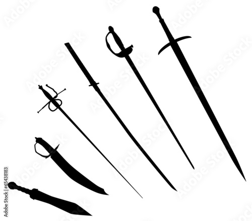 Sword Silhouettes - 65438183