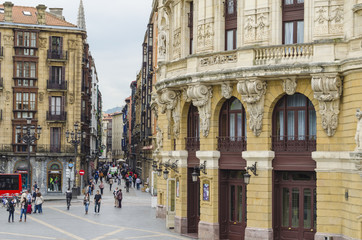 Bilbao city center