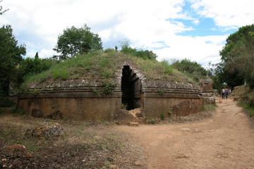 Cerveteri, Etrusco, scavi, sepolcro, tomba,