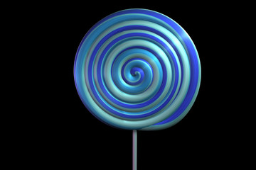 Blue Berry Lollipop