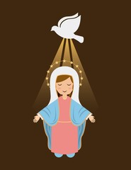 Holy Mary design