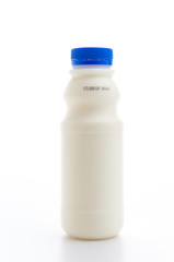 Milk isolated white background