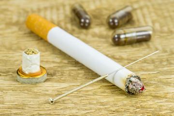 Akupunktur Raucherentwöhnung
