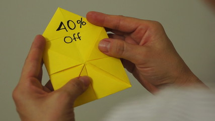Origami Game Discount 40 Percent
