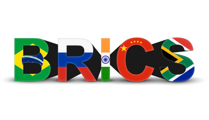 BRICS - Brazil, Russia, India, China & South Africa