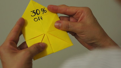 Origami Game Discount 30 Percent