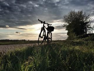 Radtour am Abend