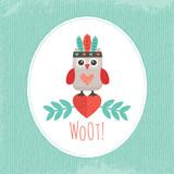 cute hipster owlet mint