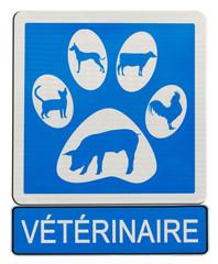 enseigne vétérinaire