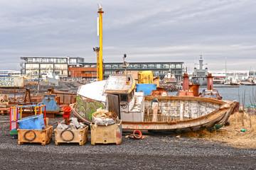 Icelandic Shipping Yard