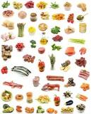 Collage de alimentos