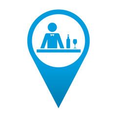 Icono localizacion simbolo hosteleria