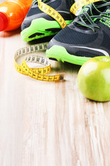 Fitness equipment and healthy nutrition