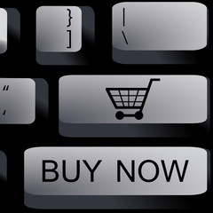 Online shopping keyboard