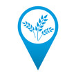 Icono localizacion simbolo agricultura