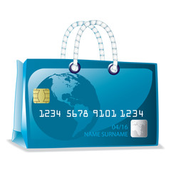 Credit card bag