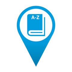 Icono localizacion simbolo diccionario