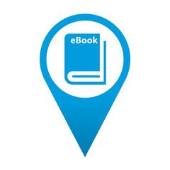 Icono localizacion simbolo eBook