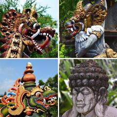 Statues à Bali